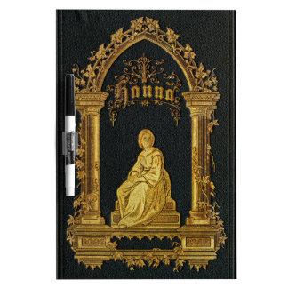 Vergoldetes Bucheinband-Antiken-jüdisches Trockenlöschtafel