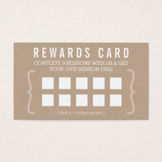 VERGÜTEN Sie einfachen Text minimales modisches Visitenkarte