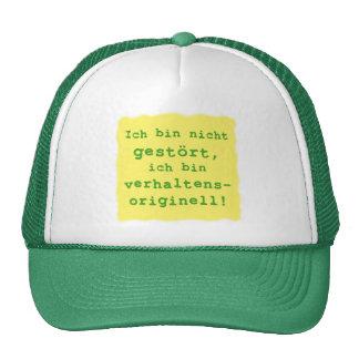 verhaltensoriginell trucker caps