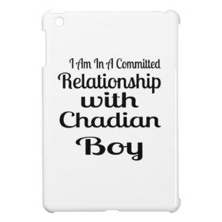 Verhältnis Jungen zum von Tschad iPad Mini Hülle