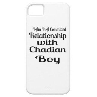 Verhältnis Jungen zum von Tschad iPhone 5 Hülle