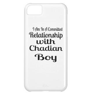 Verhältnis Jungen zum von Tschad iPhone 5C Hülle
