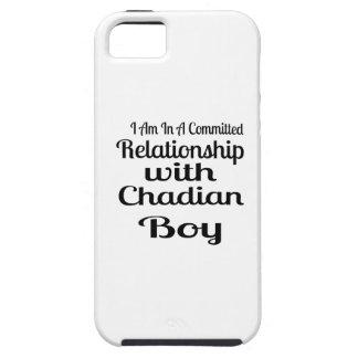 Verhältnis Jungen zum von Tschad Tough iPhone 5 Hülle