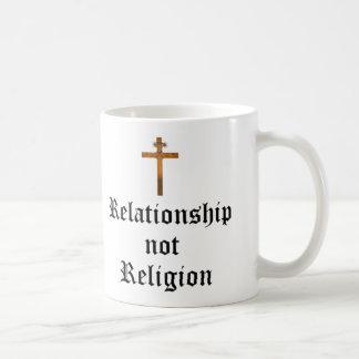"""""""Verhältnis-nicht Religions-"""" Tasse"""