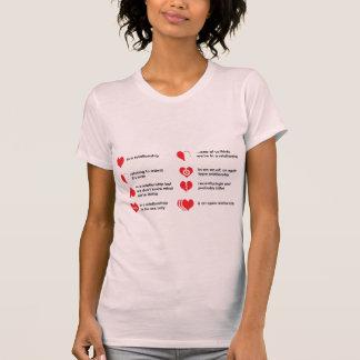 Verhältnis-Status T-Shirt
