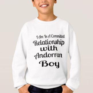 Verhältnis zu AndorranBoy Sweatshirt