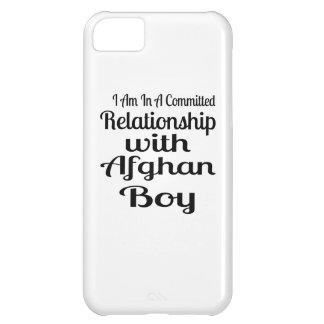 Verhältnis zum afghanischen Jungen iPhone 5C Hülle
