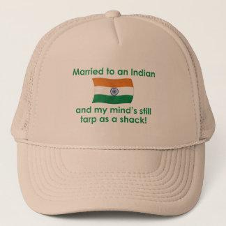 Verheiratet zu einem Inder Truckerkappe