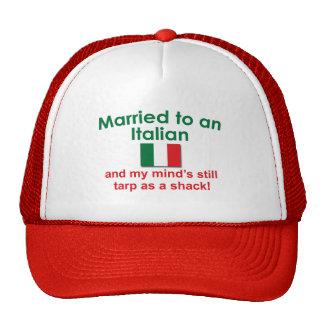 Verheiratet zu einem Italiener Baseballmütze