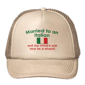 Verheiratet zu einem Italiener Baseball Caps