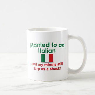 Verheiratet zu einem Italiener Tasse