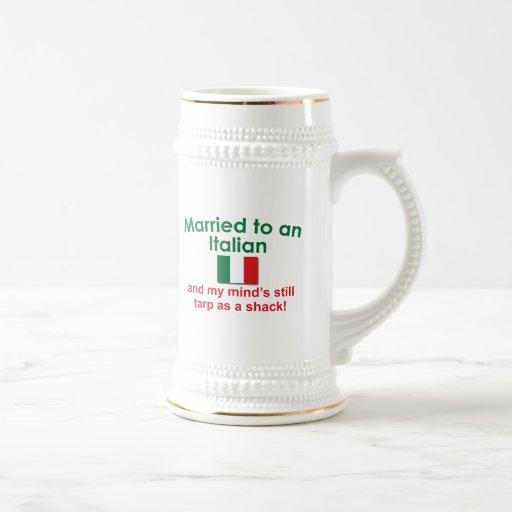 Verheiratet zu einem Italiener Kaffeetasse