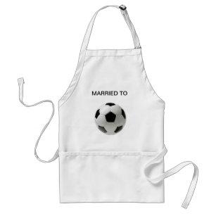 Fussball Football Soccer Fußball SCHÜRZE MALSCHÜRZE Kinderschürze Bastelschürze