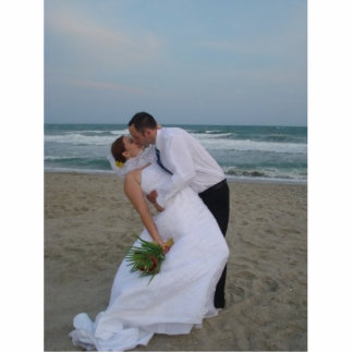 Verheiratetes Glück #1 Freistehende Fotoskulptur