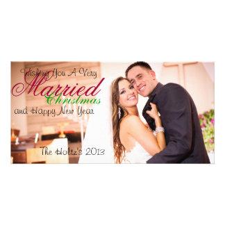 Verheiratetes Weihnachten Bilderkarten