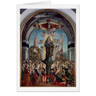 Verherrlichung von St Ursula und von ihren Karte