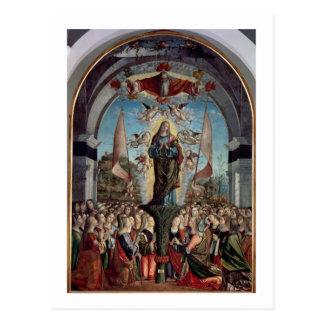 Verherrlichung von St Ursula und von ihren Postkarte
