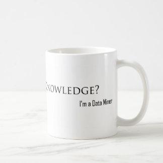Verhungern für Wissen? Kaffeetasse
