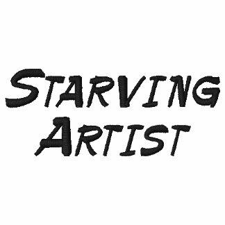 Verhungernder Künstler-lustiges langes Hülsen-Shir