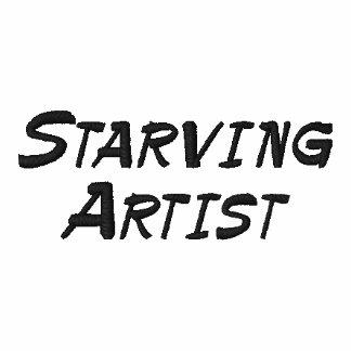 Verhungernder Künstler-lustiges Polo-Shirt Polo Shirt