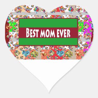 VERKAUF Geschenke für Mammen MothersDay Mutter-Tag Herz-Aufkleber