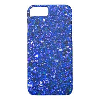 VERKAUF herrlicher blauer Glitter iPhone 7 Kasten iPhone 8/7 Hülle