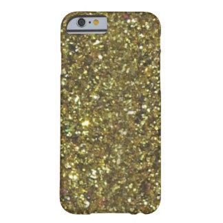 VERKAUF herrlicher GoldGlitzer iPhone 6 Fall Barely There iPhone 6 Hülle