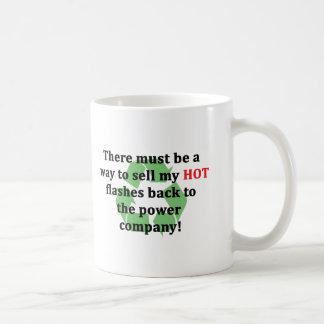 Verkaufen Sie meine große Hotflashes Rückseite Kaffeetasse