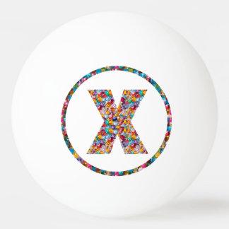VERKAUFSPREIS-ALPHABET-KUNST XXX Klingeln 3* Pong Tischtennis Ball