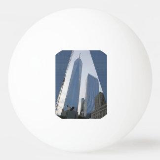 VERKAUFSPREIS Goodluck Freiheits-Turm NewYork USA Ping-Pong Ball