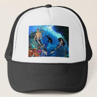 Verkaufsschlager Merrow Meerjungfrau Truckerkappe