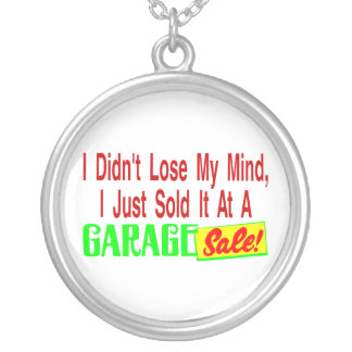 Verkaufte meinen Verstand am Ramschverkauf Versilberte Kette