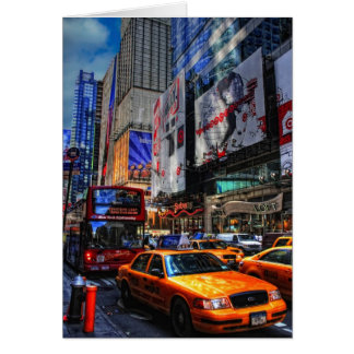 Verkehr-Leere Karte New York City