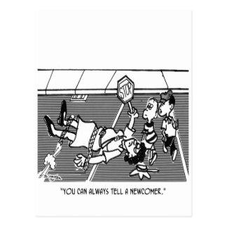 Verkehrspolizei-Cartoon 2163 Postkarte
