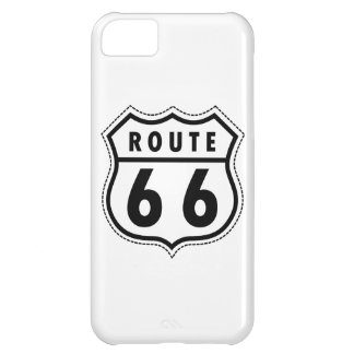 Verkehrsschild des Weg-66 iPhone 5C Hülle