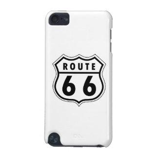 Verkehrsschild des Weg-66 iPod Touch 5G Hülle