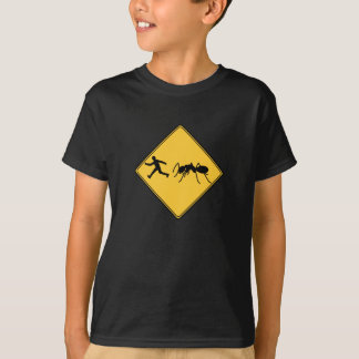 Verkehrsschild-Riese-Ameise T-Shirt