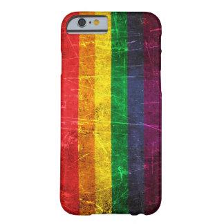 Verkratzte und getragene Vintage Gay Barely There iPhone 6 Hülle