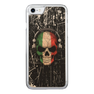 Verkratzter italienischer DJ-Schädel mit Carved iPhone 8/7 Hülle