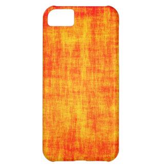 Verkratzter orange Kasten iPhone 5C Hülle