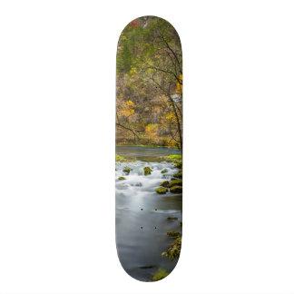Verlangsamung an der Gasse Bedruckte Skateboarddecks