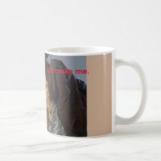 Verlassen nicht ein Bett für alles Kaffeetasse
