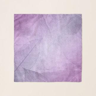 Verlassen Sie lila Chiffon-Schal Schal