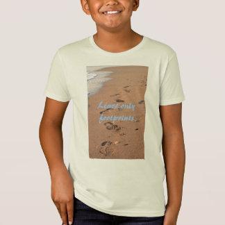 Verlassen Sie nur Abdrücke T-Shirt