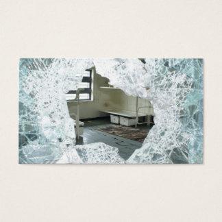 Verlassenes Gefängnis-Zellen-Bett Visitenkarte