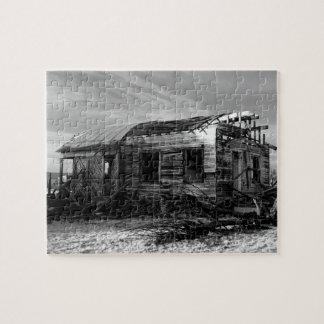 Verlassenes Haus in Kelso Kalifornien Puzzle