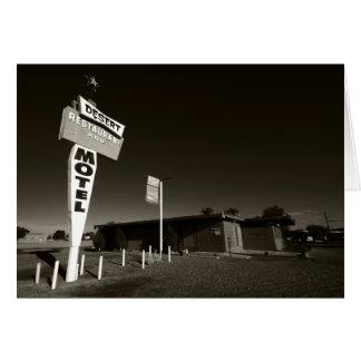 Verlassenes Motel Karte