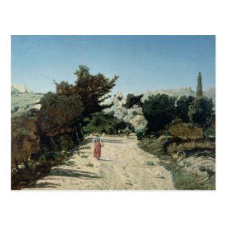 Verlegen Sie de la Gineste, nahe Marseille, 1859 Postkarte