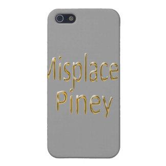 Verlegtes Piney y blg iPhone 5 Case