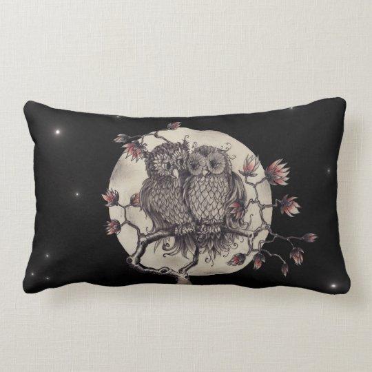 Verliebte Eulen - Owls In Love Lendenkissen